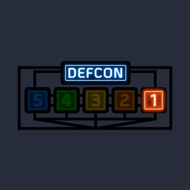 Defcon 1 - Wargames - T-Shirt   TeePublic
