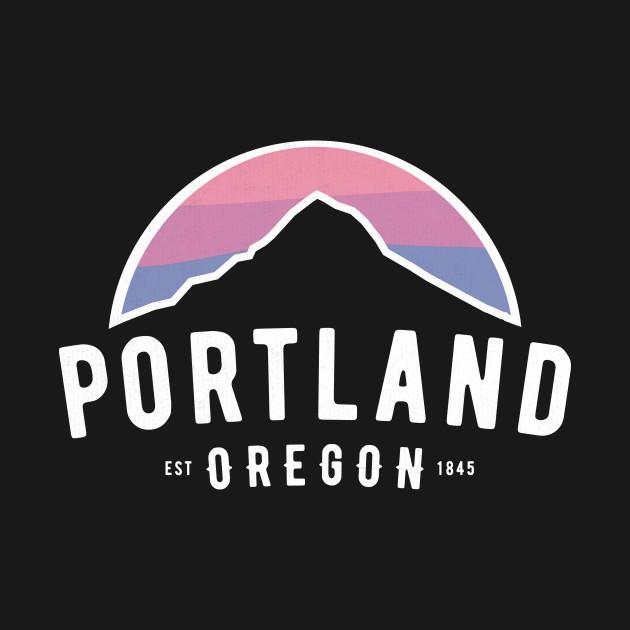 Portland Mt Hood Sunset Oregon PDX Classic Novelty