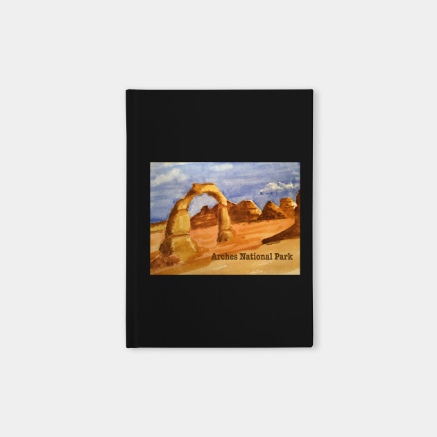 Delicate Arch Watercolor, Arches National Park