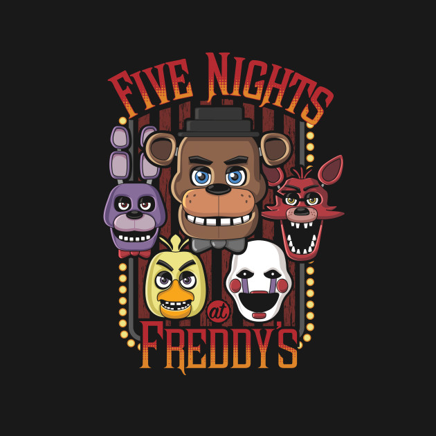 Five Nights At Freddy's Multi-Character Design