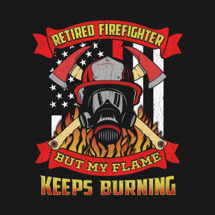 Retired Firefighter T-Shirts   TeePublic