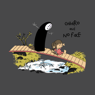 Chihiro and No Face t-shirts