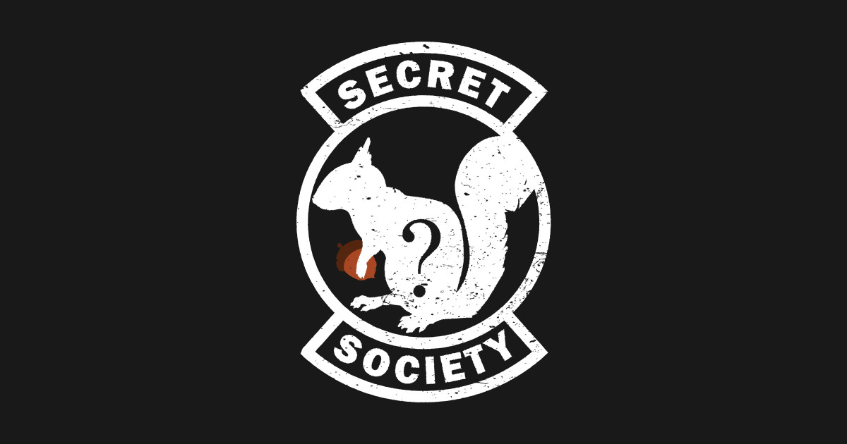 Secret Squirrel Protect Your Nuts Patch: Secret Squirrel Society