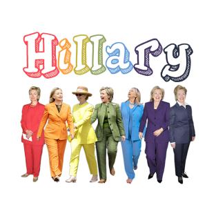 Hillary Clinton Pantsuit t-shirts