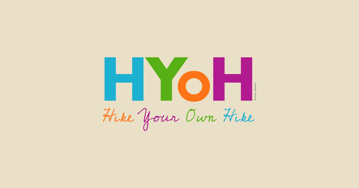 cba0006f8f Hike Your Own Hike (HYOH) T-Shirt