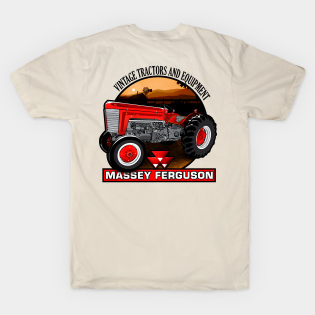 Vintage Color Tractor Boys Short-Sleeved T-Shirts