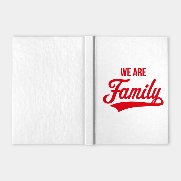 We Are Family (Parents / Father / Mother / Children / Red