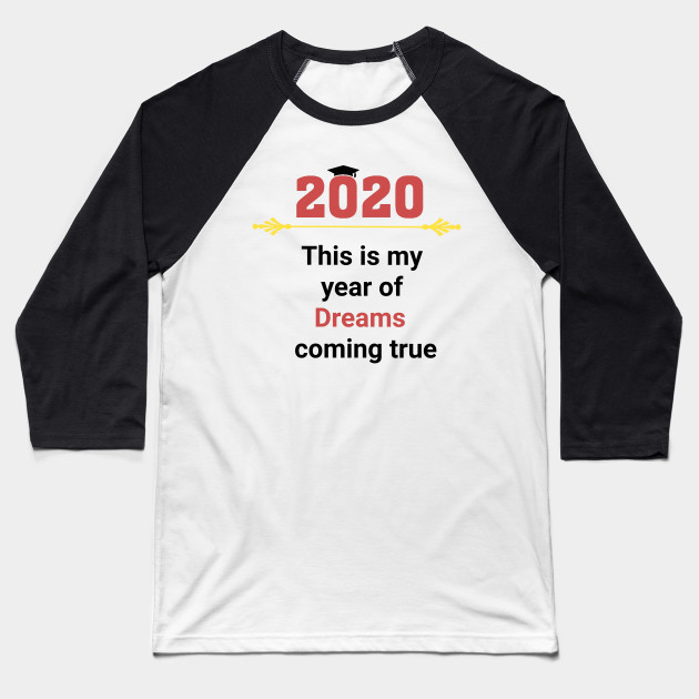Graduation 2020 Baseball T-Shirt