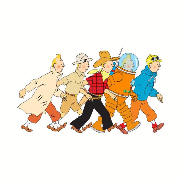 Tintin Parade