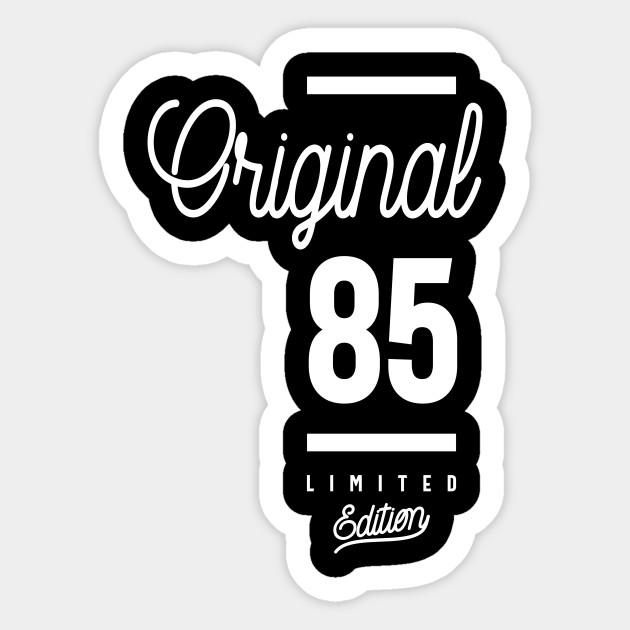 Original 85th Birthday