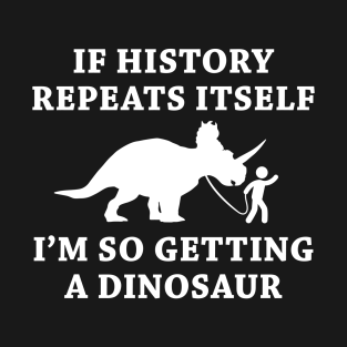 History Repeats t-shirts