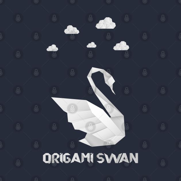 Origami Swan- Paper art