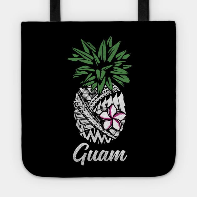 Guam Tribal Pineapple West Pacific Islanders Tragetasche Teepublic De