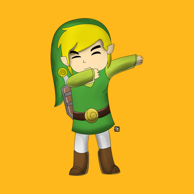 Dabbing Toon Link(Legend of Zelda Wind Waker ...
