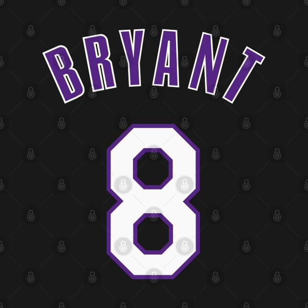 Kobe Bryant Jersey Number