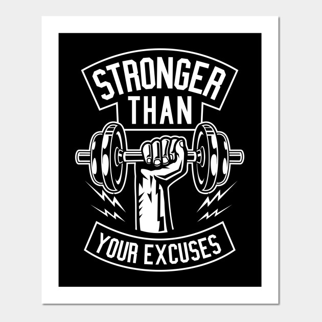 Bodybuilding Fitness Motivational Poster AFFICHE Weightlifting
