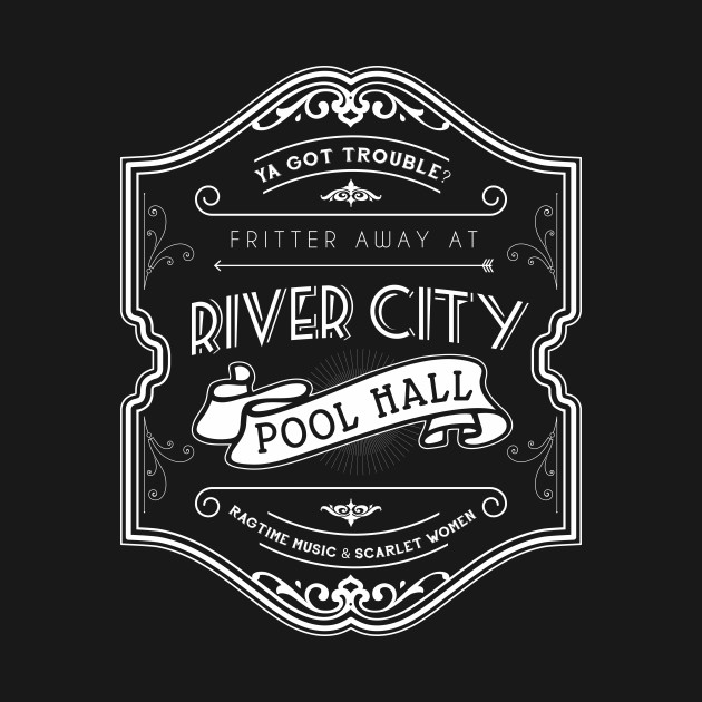 River City Pool Hall - The Music Man homage