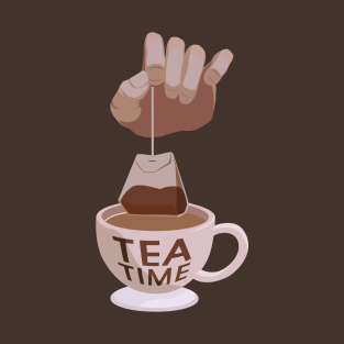 Overwatch Tea Time t-shirts