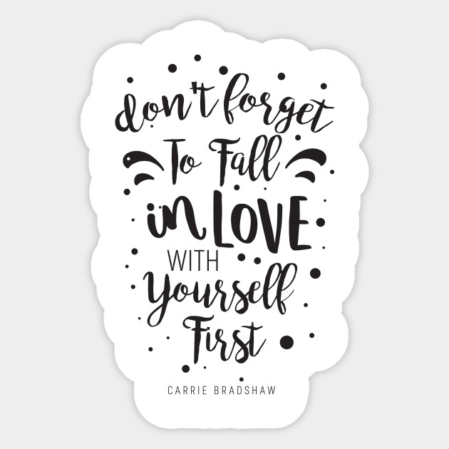 Fall In Love With Yourself First Fashion Wall Art Fall In Love