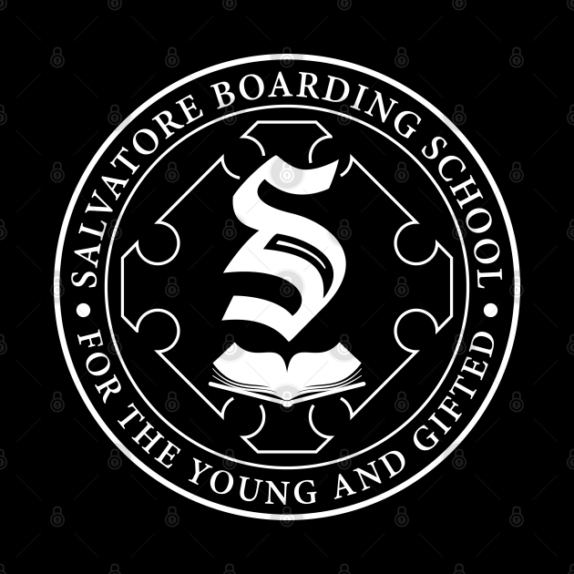 Salvatore Boarding School Crest