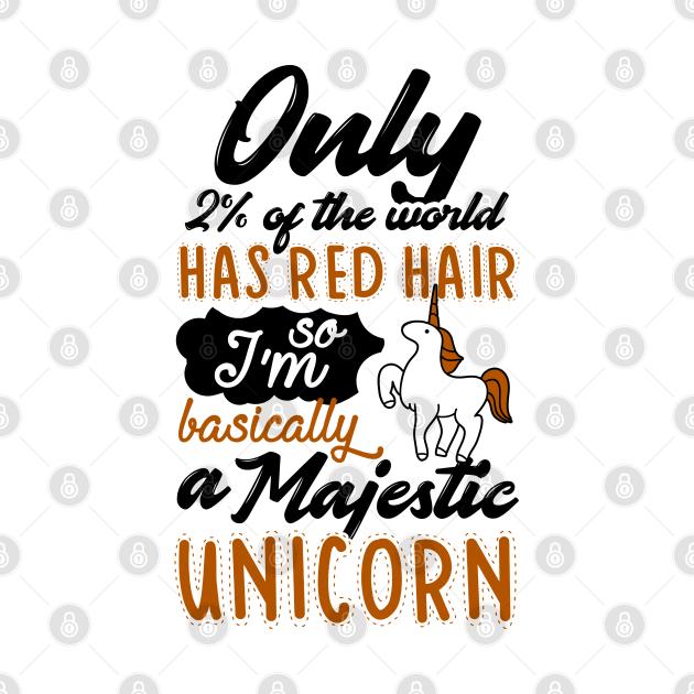 Red Hair Unicorn