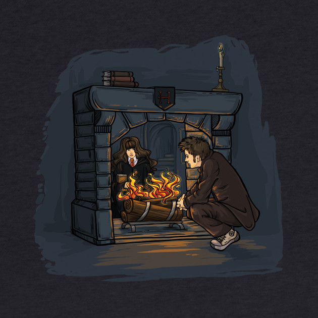 The Witch in the Fireplace