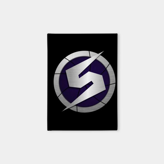 Purple Metroid Gravity Suit Logos