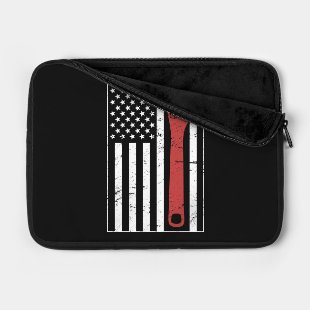 American Flag & Wrench