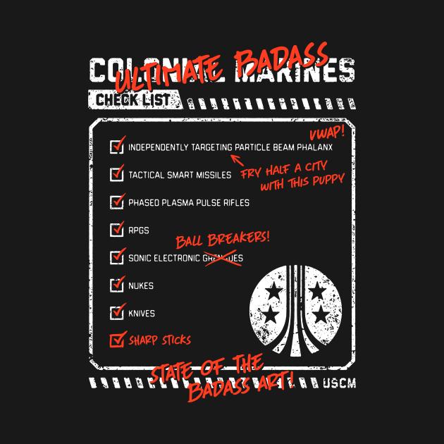 Ultimate Badass Checklist