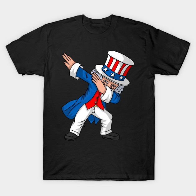 78af552f3e9a2a 4th of July Party Shirt for Kids Boys Men Dabbing Uncle Sam - Fourth ...