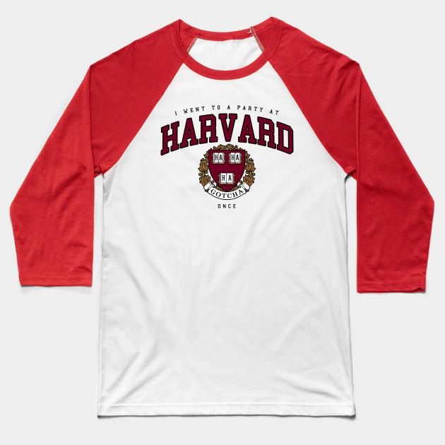 6281aa0a4f07 Harvard Spoof - Harvard - Baseball T-Shirt | TeePublic