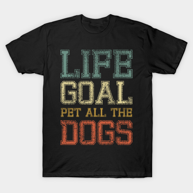 Dog Lover Pet Dogs Shirt Love Dogs Cute Dog Puppy Dog Mom Vintage Dog Design gift T-Shirt