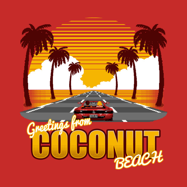Greetings from Coconut Beach