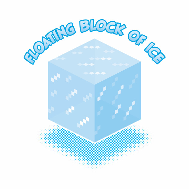 Floating Block of Ice