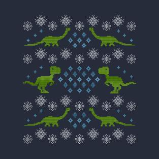 Merry Dinomas t-shirts