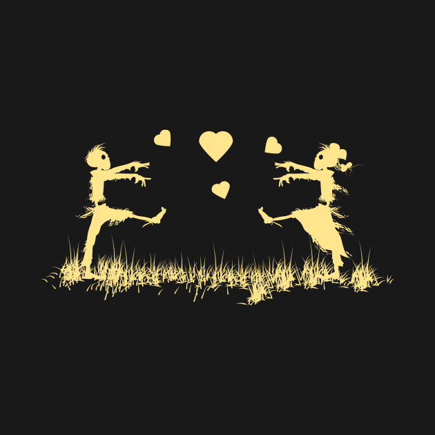 Zombies in Love Yellow