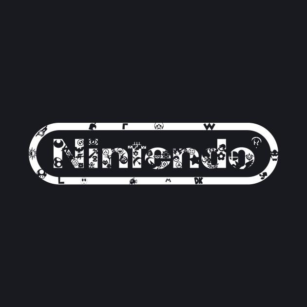 Nintendo Symbols - White