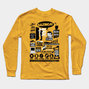 139e8a699dd4 The Big Bang Theory Long Sleeve T-Shirts | TeePublic
