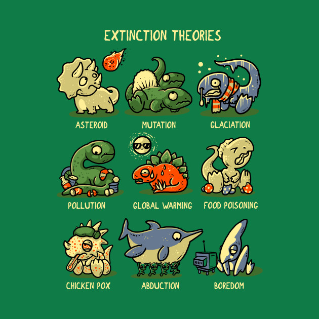 Extinction Theories T-Shirt