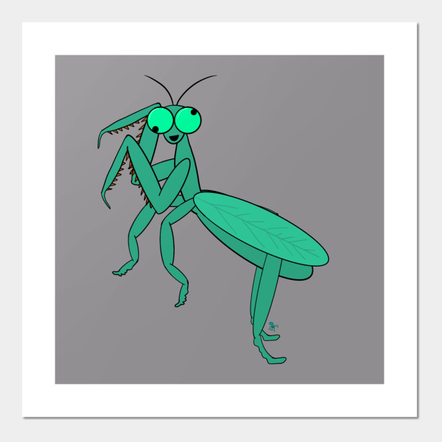 Manic Mantis Praying Mantis Posters And Art Prints Teepublic Au Some persona's have been cut short to prevent crawlers. teepublic