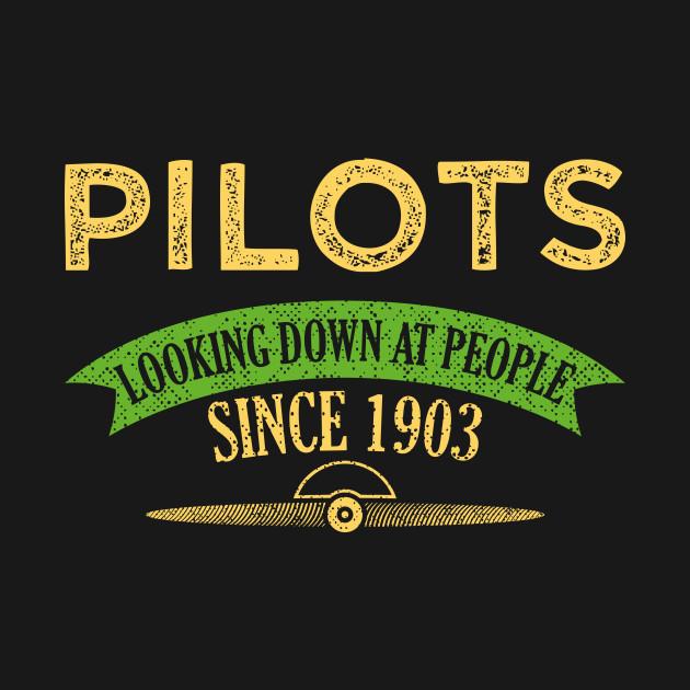 Funny Pilot T Shirts Birthday Gift Idea