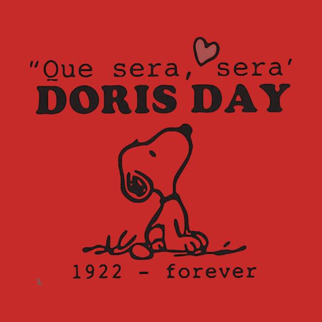 Que Sera Sera Forever Adult Hooded Sweatshirt Doris Day 1922