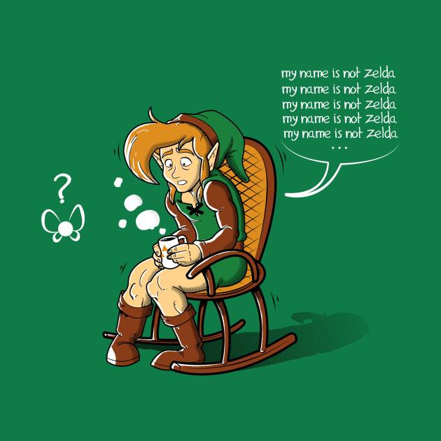 My name is not Zelda