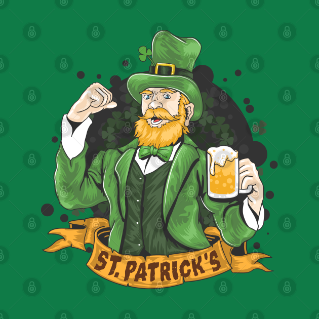 St Patricks Beer Top