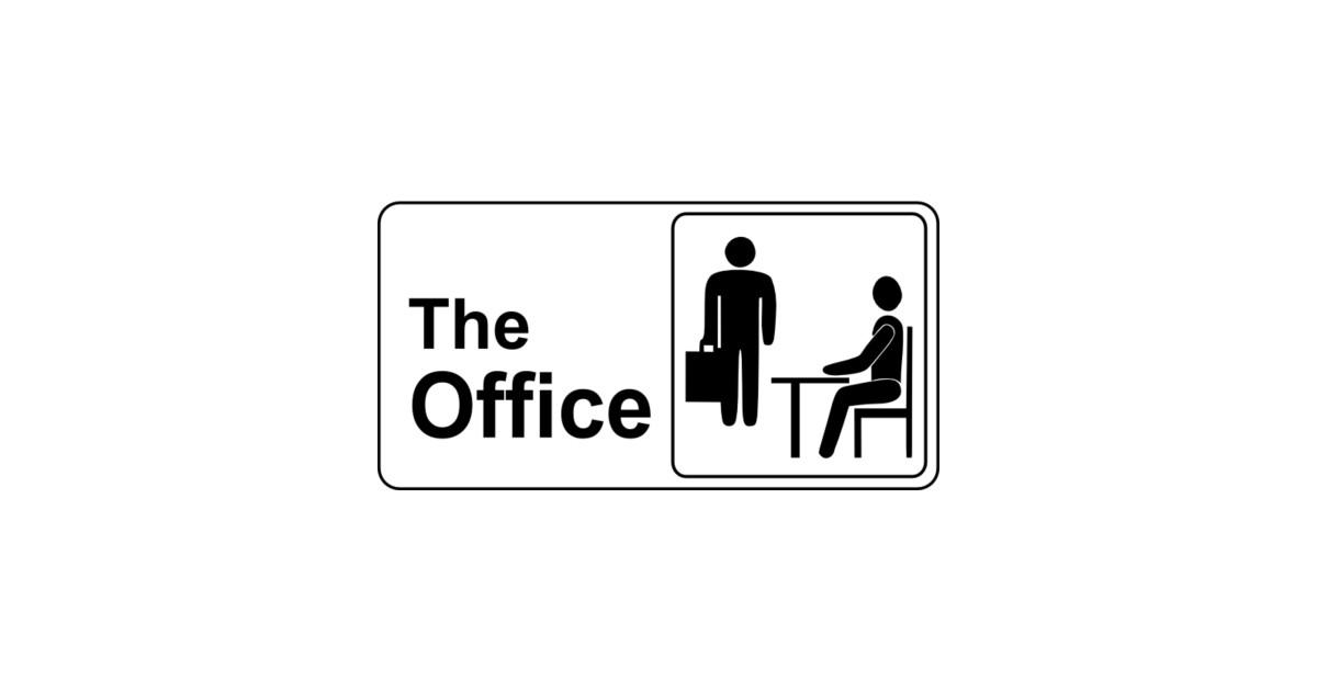The office logo the office sticker teepublic for Office logo