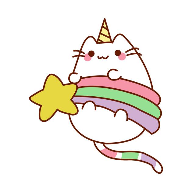 Cartoon Cat T Shirt