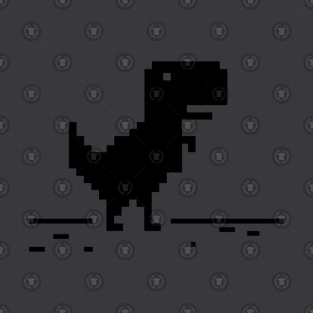 Pixel Tyrannosaurus Rex