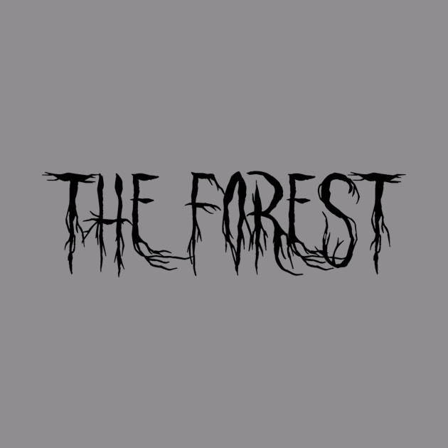 The Forest (Scary Text Horror Movie) Font