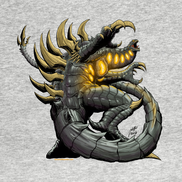 Nemesis Goddess Of Vengeance Kaiju Long Sleeve T Shirt Teepublic