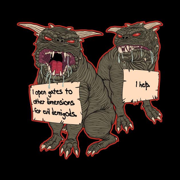 Terror Dog Shaming